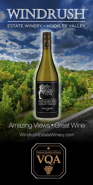 VQA 2017 Pinot Grigio Vintner's Reserve