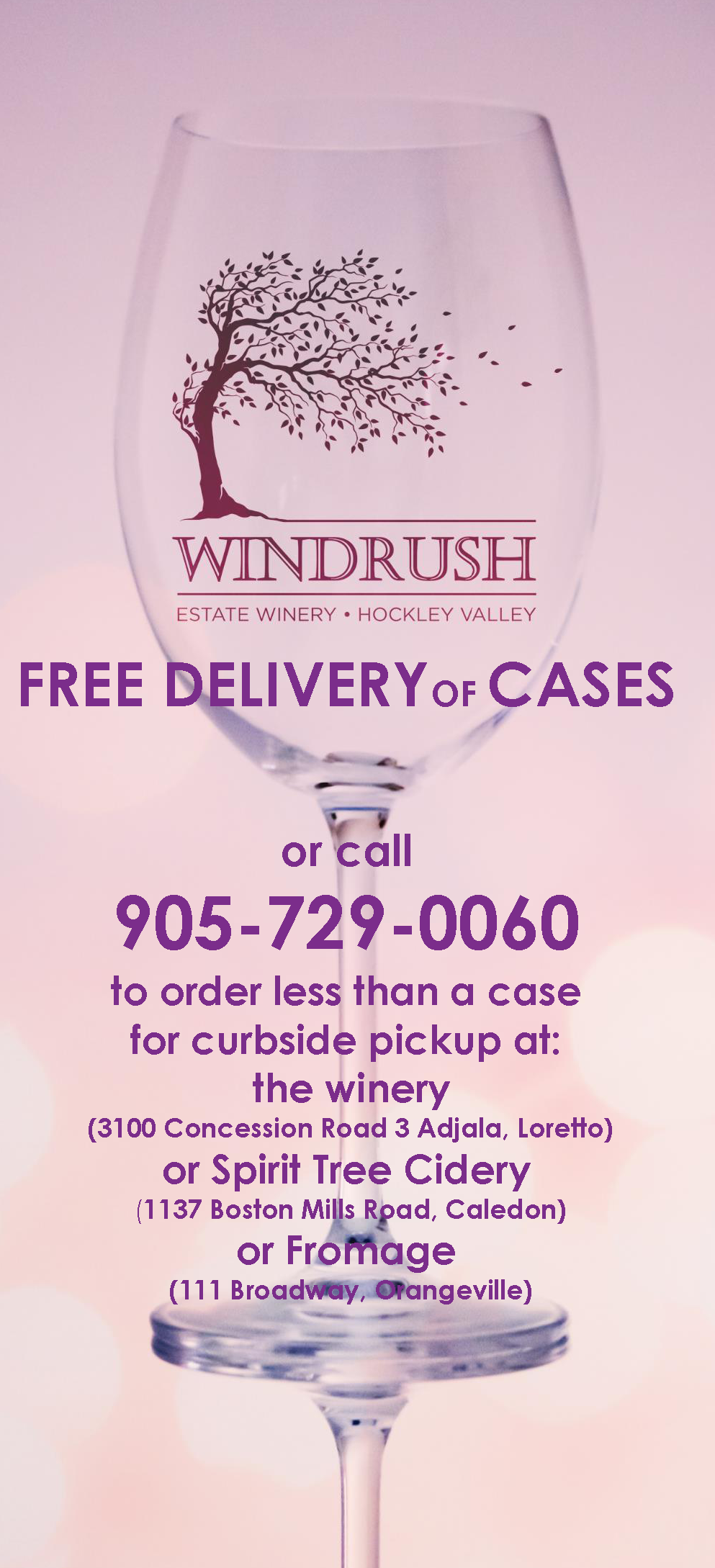 Free Delivery of Cases