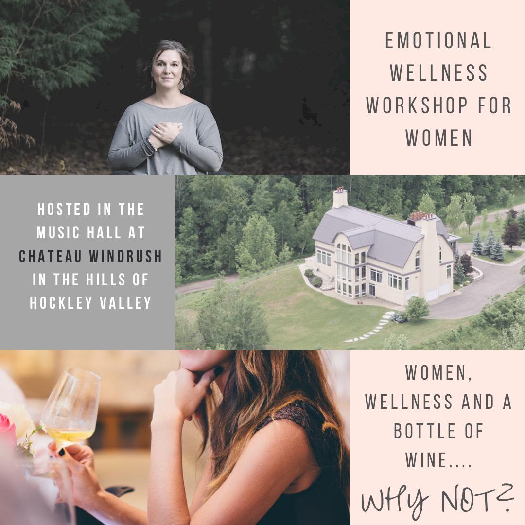 Windrush Estate Winery - Emotional Wellness Workshop